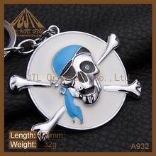 2014 most popular promotion custom metal key chain