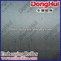 E582,textured roller,3D pattern laser engraving