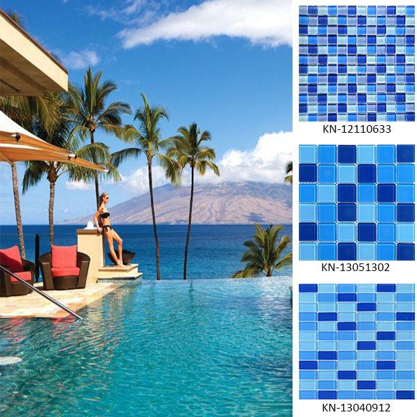 blaue mosaik schwimmbad fliesen-Mosaik-Produkt ID ...
