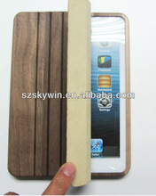 100% Natural For ipad mini Wooden bamboo cases