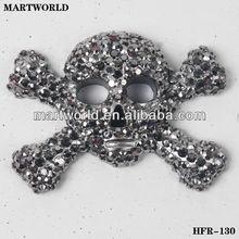 diy foam christmas decoration resin skull decoration(HFR-130)