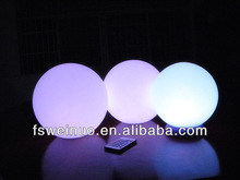 PE Material Waterproof LED ball light