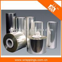 Factory price wholesale metallized aluminum pet film