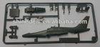 Plastic injection mould battleplane models