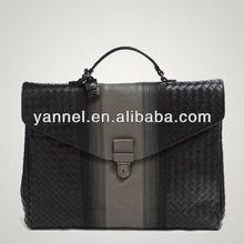 2015 newest men's briefcase, genuine leather documnet bag