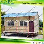 2013 low cost beautiful log wooden prefab house on sale