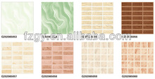 High quality best price 200X200MM Interior green wall tiles ceramic