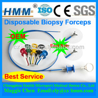 CE ISO 2.3mm Disposable Flexible Coated Tissue Sampling Biopsy Forceps
