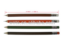 2014 new design colorful fashion pencil shape pen for student or office