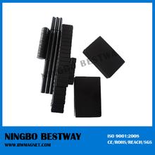 High quality black epoxy coating neodymium magnets/black color magnet