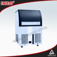 Mini fabricante de hielo, debajo del mostrador máquinadehielo, fábrica de hielo portátil