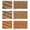 Fire Brick, Clay brick slip for wall decoration WR5711