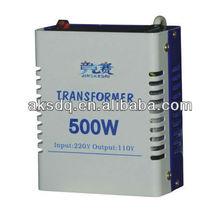 Transformer 500W,220v/110v