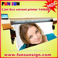 X-3200 3.2m ECO Solvent outdoor inkjet Printer (Epson dx5/Dx7 head,1440dpi)