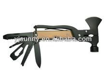 #HR-042 15 in 1 Hot Selling Brand New Aluminium Black Multi Large Hammer