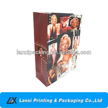 Paper carrier/packaging/shoppping bag with Marilyn Monroe