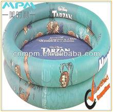 plastic inflatable swimming pool