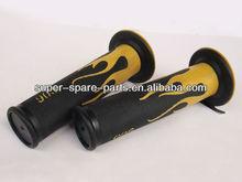 Yellow best sale bike hand grip