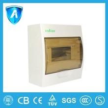 EBS5DF 6 ways Plastic distribution box