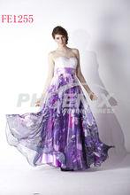 Sell Better A-line/Princess Sweetheart Floor-length Print Chiffon Evening/Prom Dress