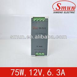 switch power supply universal AC input range Din railpower supply