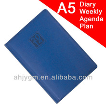 Popular Different Languages B5 PVC Cover Note Book/Agenda