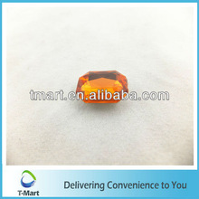clothing decoration bead point back acrylic for shoes