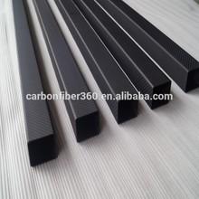 matte and twill finish 3k carbon fiber square tube,square carbon fiber tube