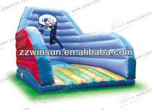 Joyful 0.55mm PVC HOT basketball amusement game with CE air blower