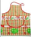 Frutas/vegetal design algodão ou cintura pvc impresso avental de cozinha avental com bolso