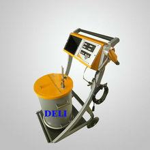 Electrostatic powder coating spraying gun
