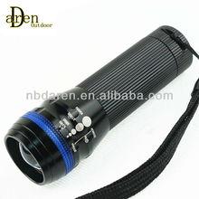 zoomable LED flashlight Q5 LED