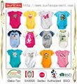 2014 confiável baby ternos corpo fabricante de roupas com oeko- tex 100 classe i e sa8000( disney autorizada de produção)