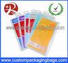 slide zip lock with hanger plastic packaging bags for garment