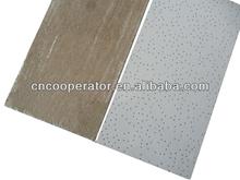Acoustic mineral fiber ceiling tile/595*595mm,603*603mm,595*1195mm/ low and high density/ moistureproof