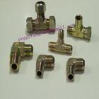 carbon steel JIc male double elbow, welded branch tee 6901 carbon steel hydraulic fittings swivel nut tee fitting/bulkhead trans