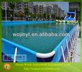 Piscinainflável quadrados/estrutura metálica da piscina