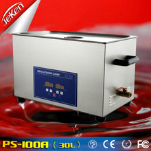 Digital and Heating 30L Big Stainless Steel Tank Ultrasonic Cleaner ,Large Ultrasonic Cleaner
