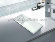 Acrylic Bathtub Common Bathtub Indoor Tub Hand Control Bathtub Built-in Tub Bathroom Accessory Set