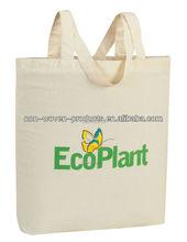 Green Fashion canvas cotton tote bag