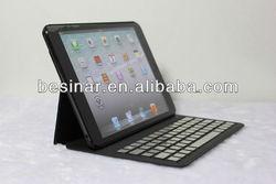For iPad mini Ultra Thin Bluetooth Keyboard Cover Case For iPad mini Bluetooth Keyboard With Detachable Smart Back Case