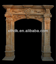 Beautiful arch design stone door frame