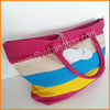fashion canvas beach bag