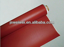 silicone coated fiberglass fabric heat resistance 0.15mm - 2.00mm thickness anti static max width 2.45m