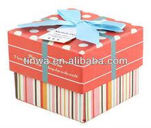 Orange treasure chest gift boxes