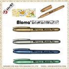 Gold and Silver Metallic Fine Point Permanent Marker