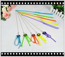 nylon rainbow pet leash and harness H063
