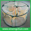 forma redonda dobrável piscicultura gaiola armadilha para peixes panela de caranguejo