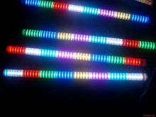 110v 220v ac24v internal control 6 segments change color led tube