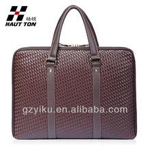 Brown travel bag big contain business bag vintage